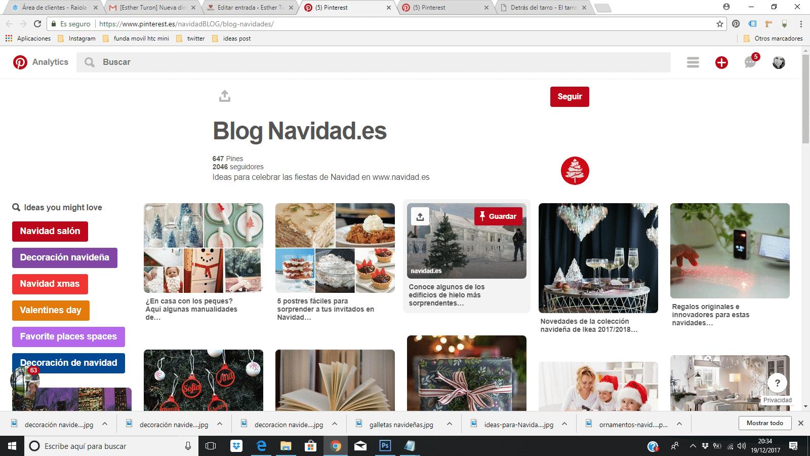 blog navidad es pinterest