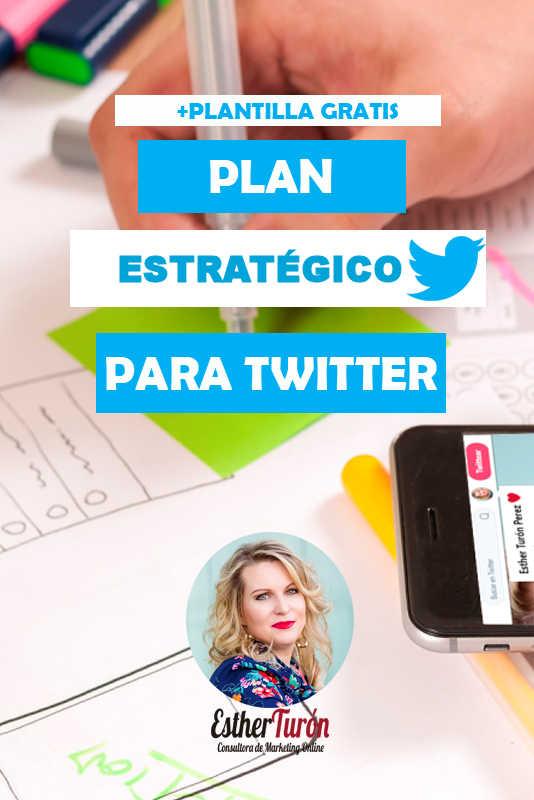 Plan Estratégico para Twitter + Super Plantilla Gratis