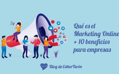 Qué es el marketing online + 10 beneficios para empresas